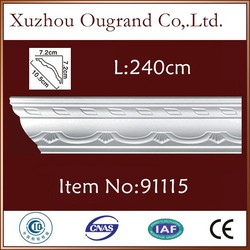 pu moulding materials for wall and ceiling covering