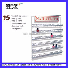 customized metal nail enamel rack