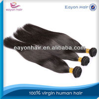 Hot sale hight quanlity aaaaaa virgin brazilian remy hair 22 inch
