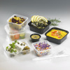 High clear plastic fruit and vegetable packaging salad container wholesale