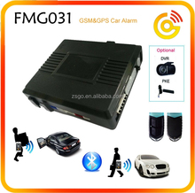 keyless entry system smart remote control 2 way GSM car alarm with GPS location --FMG031
