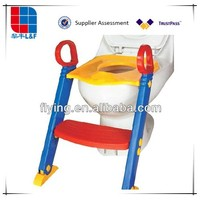 Portable Plastic Baby Potty, Ladder Stand