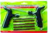 2015 best selling 7pcs motocycle tubeless tire repair tools