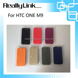 For HTC ONE M9 dot view silicon case/leather case/wallet case/flip case/phone case