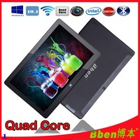 Intel CPU Tablet pc with Russian keyboard 10.1 Inch IPS Screen windows 8 laptop tablet Bluetooth quad core tablet with GPS Wifi