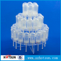 Factory price wholesale top quality product new acrylic model of display stand for wedding cake