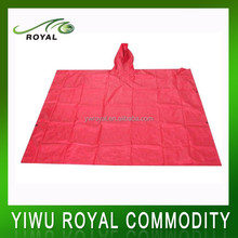 2015 PVC Raincoat, Disposable Rain Poncho, Poncho Raincoat
