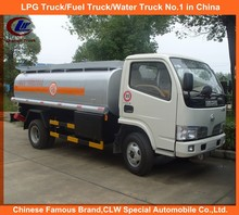 Oil Dispensing Truck for Sale 4000 Liter Tanker with Dispenser Machine