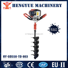 professional manufacturer hand auger drilling machine ground drill to undertake OEM orders