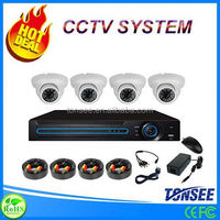Wholesale home security system AHD kit camera cctv 4CH Dome 720P/960P/1080P cctv board camera pcb