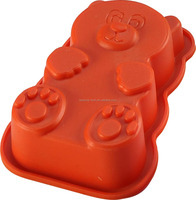bear cup cake model silicone mold decoration cake pan