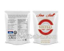 Sea Salt 1Lb. in a Plastic bag/10%Off
