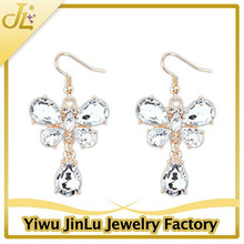 Fashion crystal butterfly traditional earrings