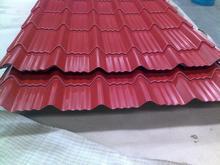 stone coated steel roofing tile steel tile trim, wave tile color steel pressure plate