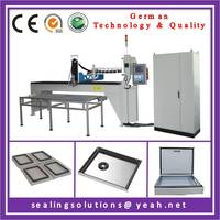 Electrical cabinet foam sealing gasket making machine