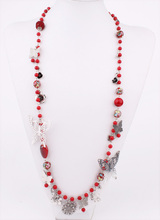 Wholesale High Quality Real Butterfly Implant Acrylic Personalized Necklace