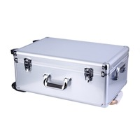 Quadcopter Aluminum Flight Case with draw bar For DJI Phantom 3