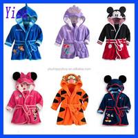 Fashion Baby Boys Girls Night Robe Children's animal Bathrobe