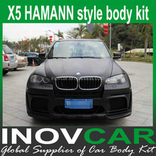 X5 HM Style fiber glass front bumper, auto body kit for Bmw x5 body kit