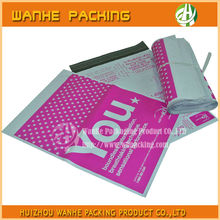 Own logo print custom made poly mailers, High quality colored poly mailers--HZWHB699