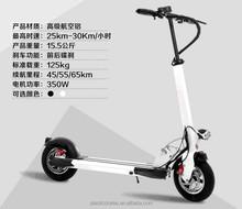400watt 36v 10inch tire foldable frashless power motor 2 wheel scooter electric