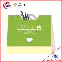 Customized wall calendar printing wholesale in shanghai