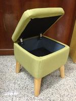 OTM-R007 High quality fabric cover storage ottoman