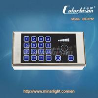 programmable led light dimmer, 12 DMX channels (CB-DP12)