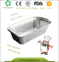 thickness rectangular aluminum foil lunch box wholesale