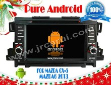 Android 4.4 car auto audio DVD navigation system for MAZDA CX-5 RDS,Telephone book,AUX IN,GPS,WIFI,
