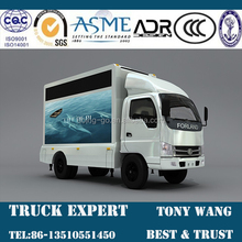 Small LED Ads Moveable Truck for sale