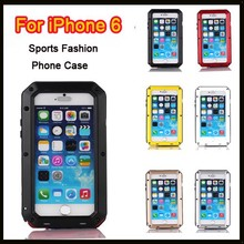 Low price for iPhone 6 Drop/Dirt/waterproof gorilla glass case