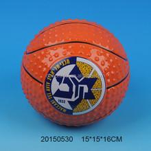 Ceramic saving box with basketball design