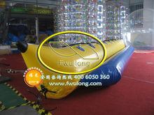 Cheap sale inflatable banana boat raft