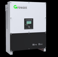 Growatt 10kw solar on grid inverter 3 phase 10000w PV grid tie inverter with transformer less UL/TUV/CSA passed 5 years warranty