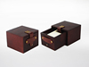 Antique Style Brown Wood Watch Boxes with Special Design