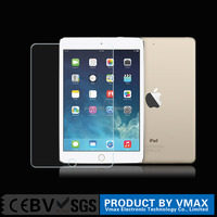 Vmax factory price Anti shock tempered glass screen guard for ipad pro