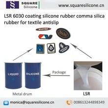 LSR 6030 coating silicone rubber comma silica rubber for textile antislip