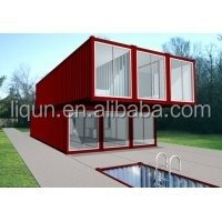 2015 china factory Well Designe modern residential container house building