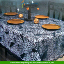 Halloween High Quality 100 % Polyester Tablecloth/ Table Cover