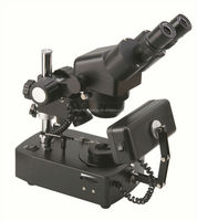 ZTX-E-ZB 5X-20X Diamond/Jewelry Microscope with Darkfield Attachment, Square Light and Tweezer, CE, ROHS/ darkfield microscope