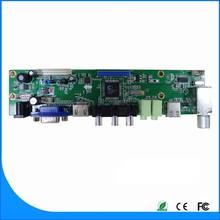 Allgee company diseño Main board LCD TV con HDMI de entrada y USB difusión y actualización de firmware