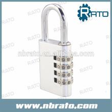 Rp-147 4 digital de aluminio candado de combinación