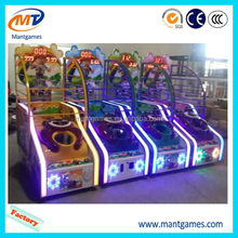 OEM Small basketball/factory direct electronic indoor kiddy rides machine