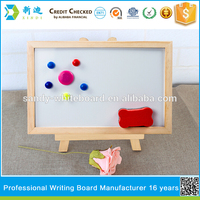 surpace quality whiteboard with easel stand for kids