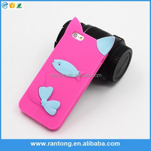Hot selling animal silicone case for lovely design for girl