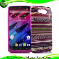 Factory wholesale PC TPU blank 2d sublimation case for Moto XT1225 MAXX