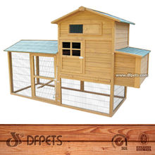 Wooden Cage For Growing Broiler Chicken Coop DFC004
