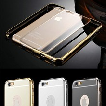 Luxury Chrome Mirror Back Cover Case For iPhone 5 6 6 Plus
