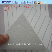 Footwear raw material, Stripe insole materials used for shoe making